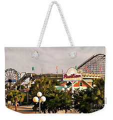 Myrtle Beach Pavillion Amusement Park Weekender Tote Bag by Bob Pardue