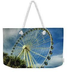 Myrtle Beach Skywheel Weekender Tote Bag by Bill Barber