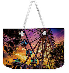 Myrtle Beach Skywheel Weekender Tote Bag