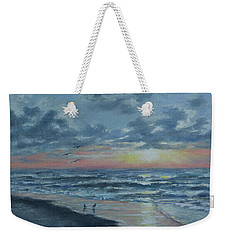 Myrtle Beach Sunrise Weekender Tote Bag by Kathleen McDermott