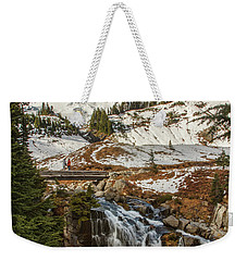 Myrtle Falls, Mt Rainier Weekender Tote Bag