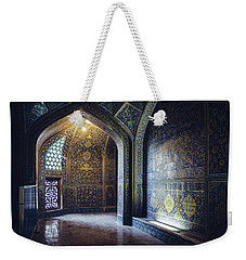 Mysterious Corridor In Persian Mosque Weekender Tote Bag
