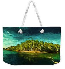 Mysterious Isle Weekender Tote Bag