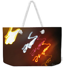 Weekender Tote Bag featuring the photograph Mysterious Signature by Ausra Huntington nee Paulauskaite