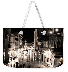 Mysterious Venice Monochrom Weekender Tote Bag