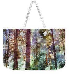 Mysterious Wood Weekender Tote Bag