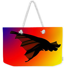 Mystery In Flight Weekender Tote Bag