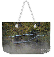 Weekender Tote Bag featuring the photograph Mystery In The Fall by Skip Willits