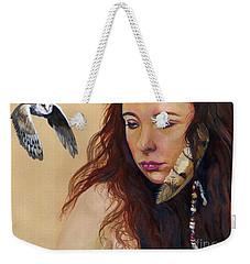 Mystery Weekender Tote Bag