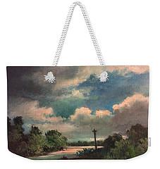 Mystery Of God  The Eye Of God Weekender Tote Bag by Randy Burns