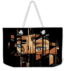 Mystery Woman1 Weekender Tote Bag by Andrew Drozdowicz