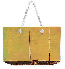 Mystic Bay Triptych 2 Of 3 Weekender Tote Bag