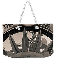 Mystic Bridge Gear In Mystic Ct Weekender Tote Bag