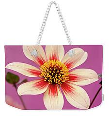 Mystic Dahlia Weekender Tote Bag
