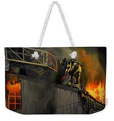 Mystic Fire Weekender Tote Bag by Paul Walsh