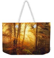 Mystic Fog Weekender Tote Bag