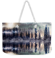 Mystic Lake Weekender Tote Bag