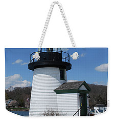 Mystic Lighthouse Weekender Tote Bag