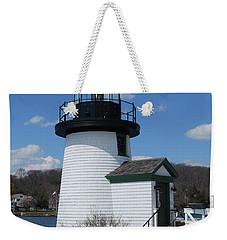 Mystic Lighthouse Weekender Tote Bag
