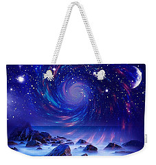 Mystic Lights Weekender Tote Bag