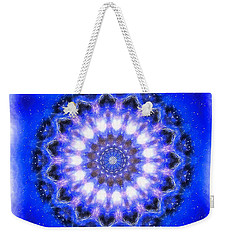 Mystic Mandala Weekender Tote Bag