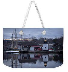 Mystic Seaport Weekender Tote Bag