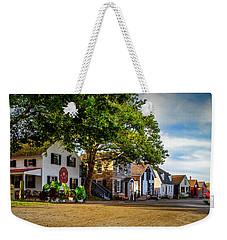 Mystic Seaport Village Weekender Tote Bag
