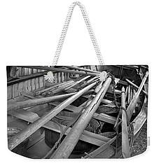 Mystic Seaport Whaling Boat Weekender Tote Bag