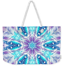 Weekender Tote Bag featuring the digital art Mystic Universe 1 Kk2 by Derek Gedney