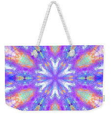 Weekender Tote Bag featuring the digital art Mystic Universe 10 Kk2 by Derek Gedney