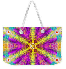 Weekender Tote Bag featuring the digital art Mystic Universe 11 Kk2 by Derek Gedney