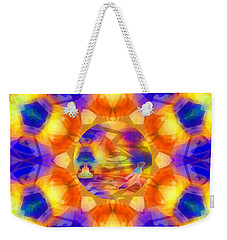 Weekender Tote Bag featuring the digital art Mystic Universe 12 Kk2 by Derek Gedney