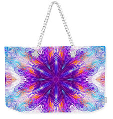 Weekender Tote Bag featuring the digital art Mystic Universe 2 Kk2 by Derek Gedney