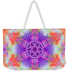 Weekender Tote Bag featuring the digital art Mystic Universe 3 Kk2 by Derek Gedney
