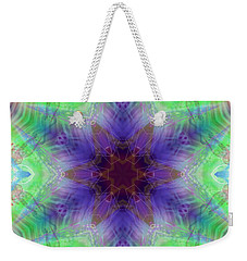 Weekender Tote Bag featuring the digital art Mystic Universe 4 Kk2 by Derek Gedney