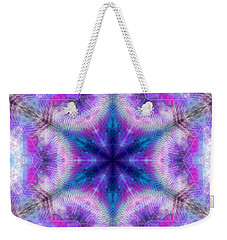 Weekender Tote Bag featuring the digital art Mystic Universe 5 Kk2 by Derek Gedney