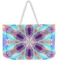 Weekender Tote Bag featuring the digital art Mystic Universe 6 Kk2 by Derek Gedney