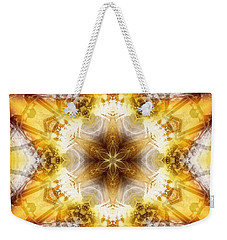 Weekender Tote Bag featuring the digital art Mystic Universe 7 Kk2 by Derek Gedney