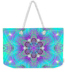 Weekender Tote Bag featuring the digital art Mystic Universe 8 Kk2 by Derek Gedney