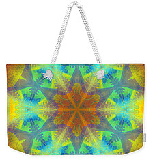 Weekender Tote Bag featuring the digital art Mystic Universe 9 Kk2 by Derek Gedney