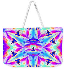 Weekender Tote Bag featuring the digital art Mystic Universe Kk 10 by Derek Gedney