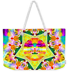 Weekender Tote Bag featuring the digital art Mystic Universe Kk 11 by Derek Gedney