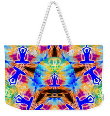 Weekender Tote Bag featuring the digital art Mystic Universe Kk 13 by Derek Gedney