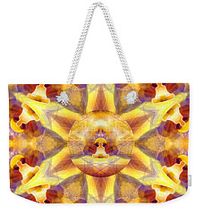 Weekender Tote Bag featuring the digital art Mystic Universe Kk 14 by Derek Gedney
