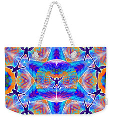 Weekender Tote Bag featuring the digital art Mystic Universe Kk 15 by Derek Gedney