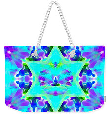 Weekender Tote Bag featuring the digital art Mystic Universe Kk 8 by Derek Gedney