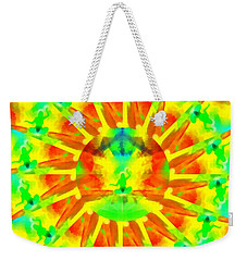 Weekender Tote Bag featuring the digital art Mystic Universe Kk 9 by Derek Gedney