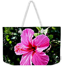 Weekender Tote Bag featuring the photograph Mystical Bloom by The Art of Alice Terrill