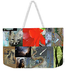 Mystical Desert Compilation Weekender Tote Bag