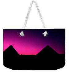 The Pyramids At Sundown Weekender Tote Bag